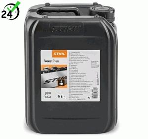 Olej do smarowania łańcucha ForestPlus 5 litrów