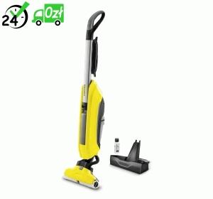 FC 5 mop elektryczny Karcher + CHEMIA RM 536 i RM 537
