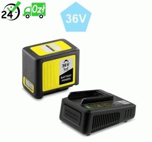 Szybka ładowarka + bateria 36 V / 5 Ah do urządzeń akumulatorowych Karcher
