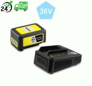 Szybka ładowarka + bateria 36 V / 2,5 Ah do urządzeń akumulatorowych Karcher