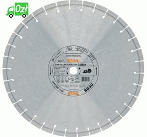 Ściernica diamentowa uniwersalna Stihl, beton zbrojony/ratownicza (D-SB80), 300mm