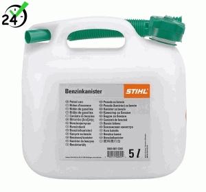 Kanister na benzynę Stihl, pojemność 3 litry, przeźroczysty