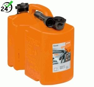 Kanister Kombi Stihl pomarańczowy, Standard 5 l / 3 l
