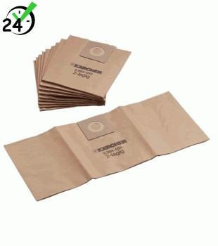 Papierowe worki (5szt) do NT 25/1 - 35/1, Papierowe worki filtracyjne 5 szt. Karcher