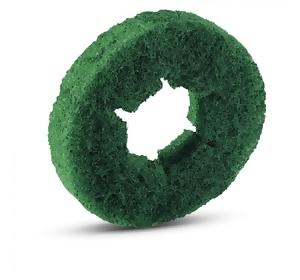 Pady walcowe twarde, zielone, 20 sztuk