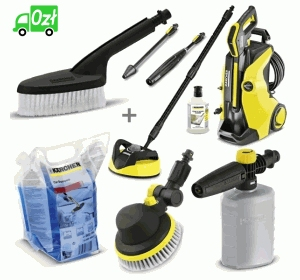 K 5 Full Control Home T 350 (145bar, 500l/h) myjka Karcher SILVER EDITION