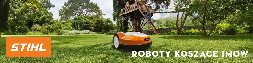Roboty koszące iMOW