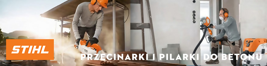 Przecinarki i pilarki do betonu