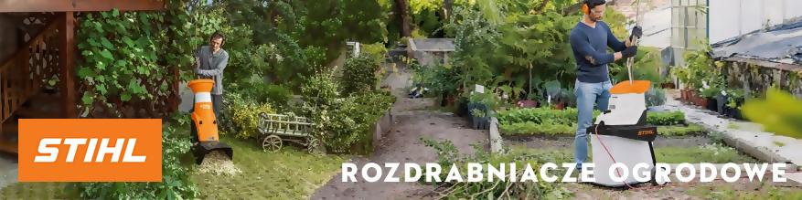 Rozdrabniacze ogrodowe