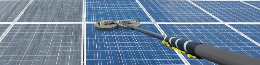 Czyszczenie paneli fotowoltaicznych, słonecznych, solarów
